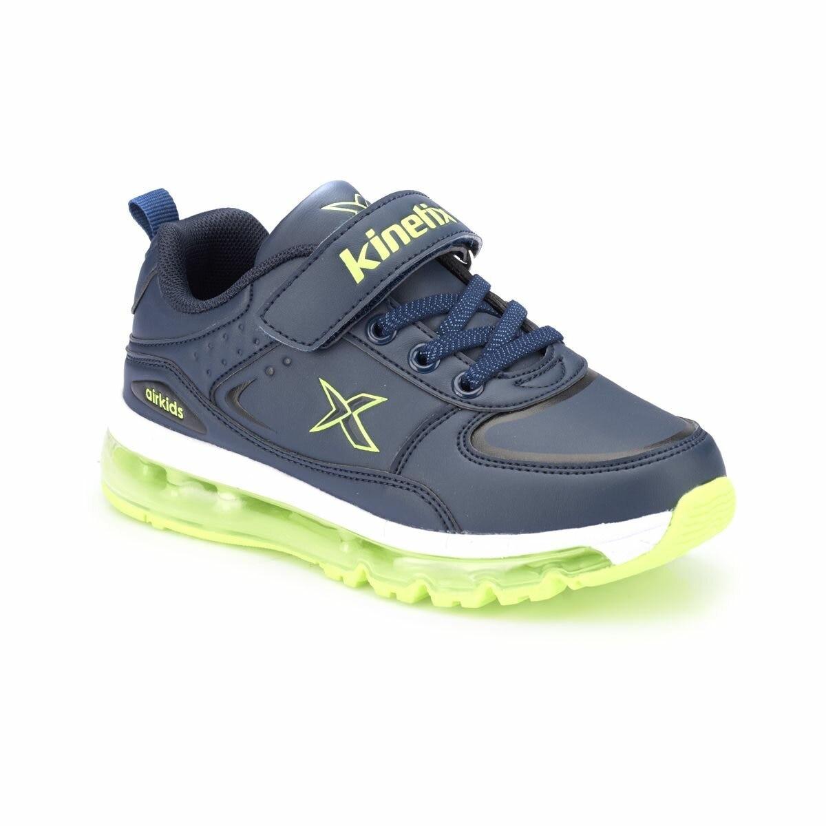 FLO LONAIR Navy Blue Male Child Running Shoes KINETIX