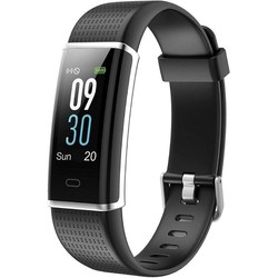 Quantifying bracelet sunstech fitlifehr black-lcd screen 2.44cm - bt4.0 - bat 70mah-notifications-frequency