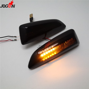 Image 4 - For Opel For Vauxhall Astra J K Crossland X Grandland Insignia B Zafira C LED Dynamic Turn Signal Light Side Fender Marker Lamp