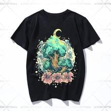Древа любви; Цветная версия винтажные мужские бла футболка хлопковая
