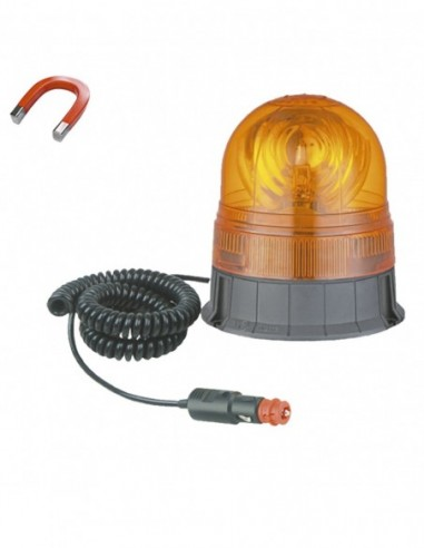 JBM 51961 ROTATING Warning WIRED MAGNETIZED H1 24V 70W
