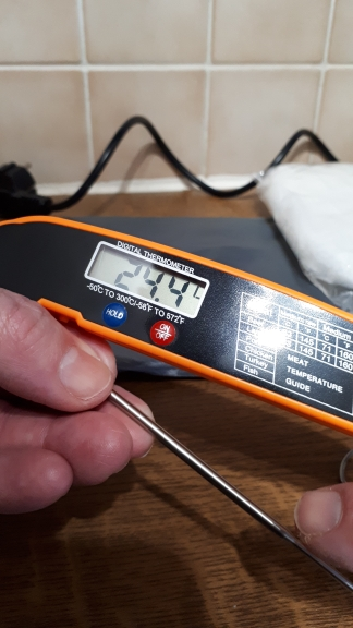 Digital Meat Water Kitchen Food Thermometer photo review