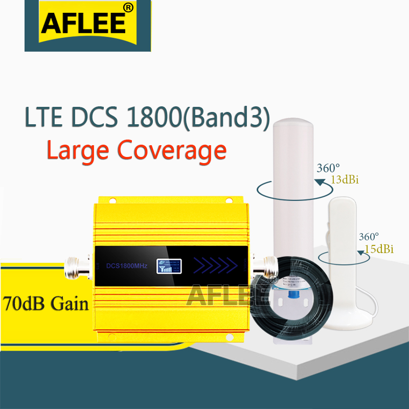 High Gain!! LTE1800mhz 4G Network Moblie Signal Booster GSM 1800 2g 4g Signal Repeater DCS LTE 1800 Cellphone Cellular Amplifier