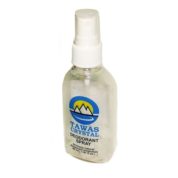 Tawas Crystal Spray (bottle With Pump 40 Ml) With Dry Granules, 15 Gr./E