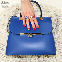 JUICE ,made in Italy, Genuine leather, women bag, classic style, shoulder handbag 112067