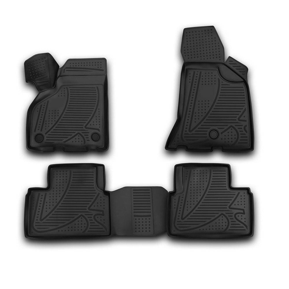 3D mats in the interior for LADA Priora  2010  4 PCs F120250E1   - title=