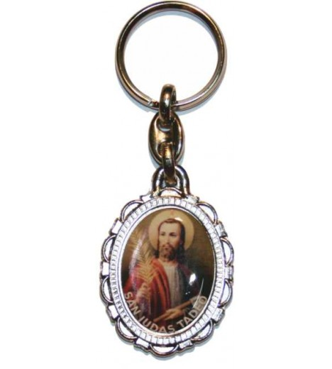 Keychain San Judas Impossible Things