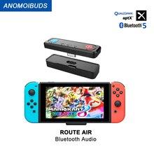 AnomoibudsBluetooth Phát Cho Nintendo Switch Không Dây Bluetooth 5.0 Có Âm Thanh APTX LL Phụ Kiện Cho Công Tắc Lite PS4
