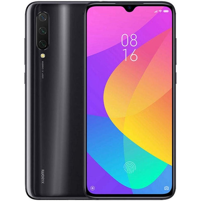 "Phone Xiaomi My 9 Lite, Color Gray Onyx, 64 GB ROM, 6 GB RAM, Global Version, 6,39 ""Screen, Threefold Cá"