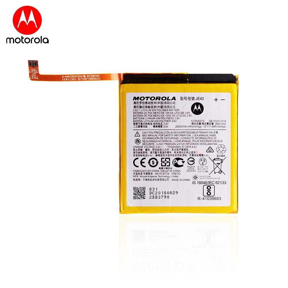 Оригинальный аккумулятор для смартфона Motorola P30 Play / Z3 / G7 Play (3,8 в, 3000 мАч, JE40)