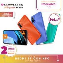 [Versión Garantía Española Oficial] Xiaomi Redmi 9T Con NFC Smartphone 4GB 64GB / 128GB ROM Snapdragon 662 48MP cámara trasera