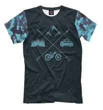 Males's T-shirt mountain bike camp