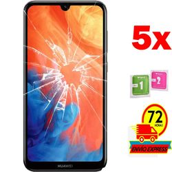 5x Protectors Screen szkło hartowane dla HUAWEI Y7 2019 (nie pełne patrz informacje)