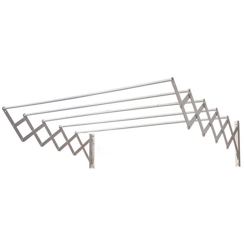 Extendable Clothesline Wall 1,00 Meters Aluminum