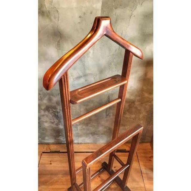 Wooden Butler Dressing Stand 2