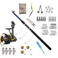 81 piece Carp Hunter Fishing Rod Set