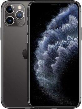 Перейти на Алиэкспресс и купить Телефон Apple iPhone 11 Pro, цвет серый, 6 ГБ ОЗУ, 256 Гб ПЗУ, oled-дисплей 5,8 дюйм. Камера 12 МП