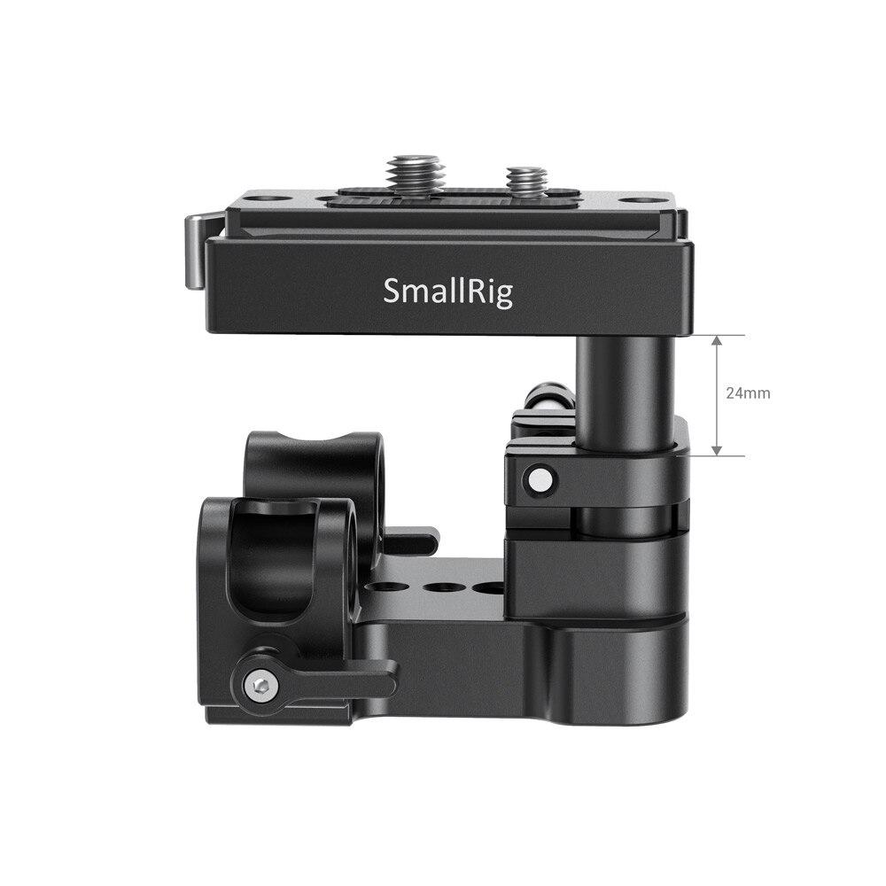 Plaque de base du système de Support de Rail universel 15mm (norme arca-swiss) pour appareils photo reflex numériques-2092