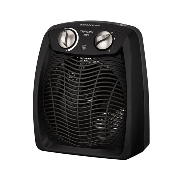 Vertical Heater Taurus 68758 2400W Black