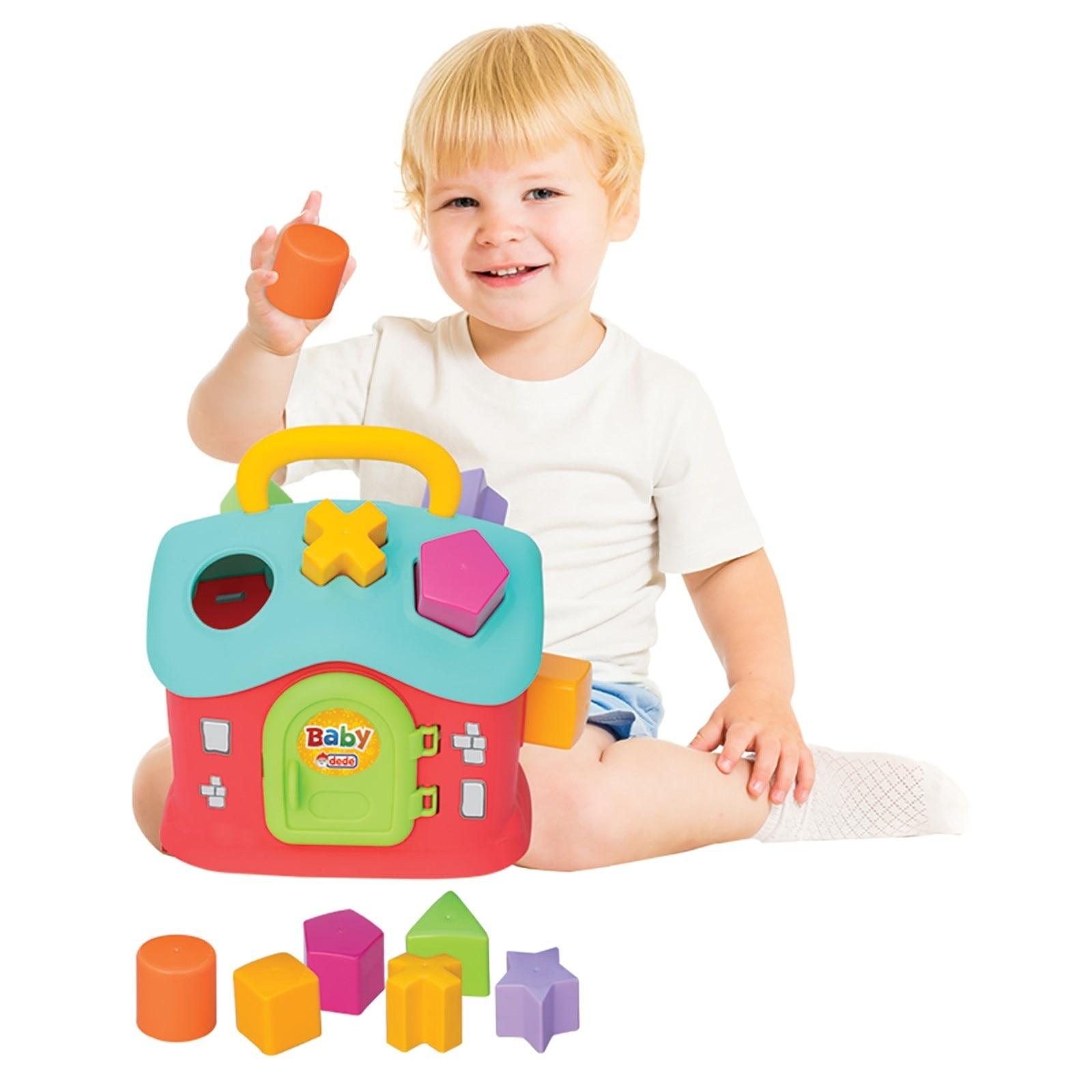 Ebebek Fen Oyuncak Baby Shape Sorter Puzzle Home