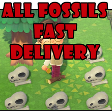 Horizons All-Fossils CHEAP Animal-Crossing:new FOR Your-Museum VERY AND Fast-Delivery