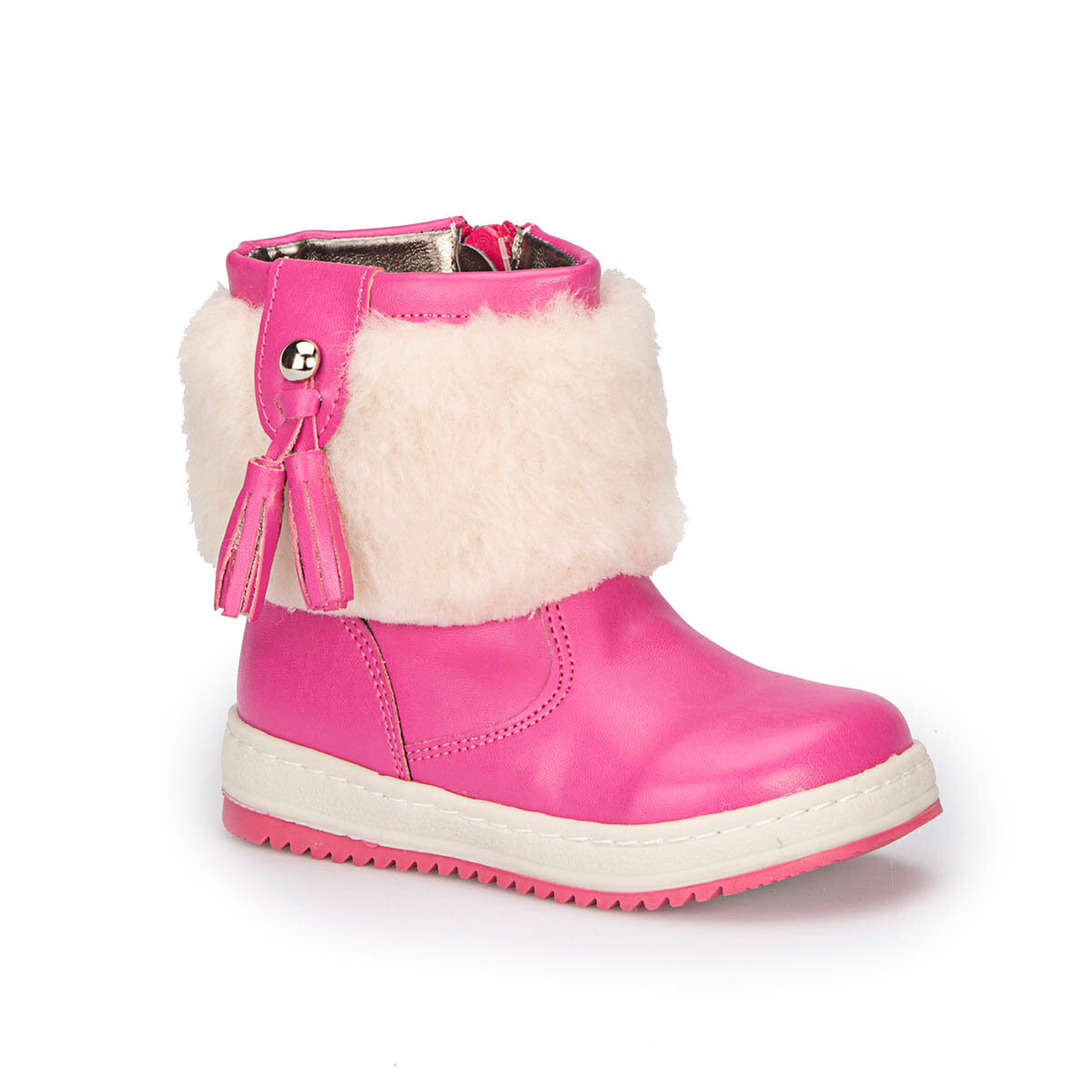 FLO 72.509537.B Fuchsia Female Child Classic Boots Polaris