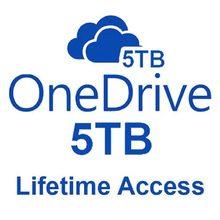 OneDrive – Compte Avec Capacité De 5 To, Stockage Cloud A Vie + off _ ice365, Multilingue