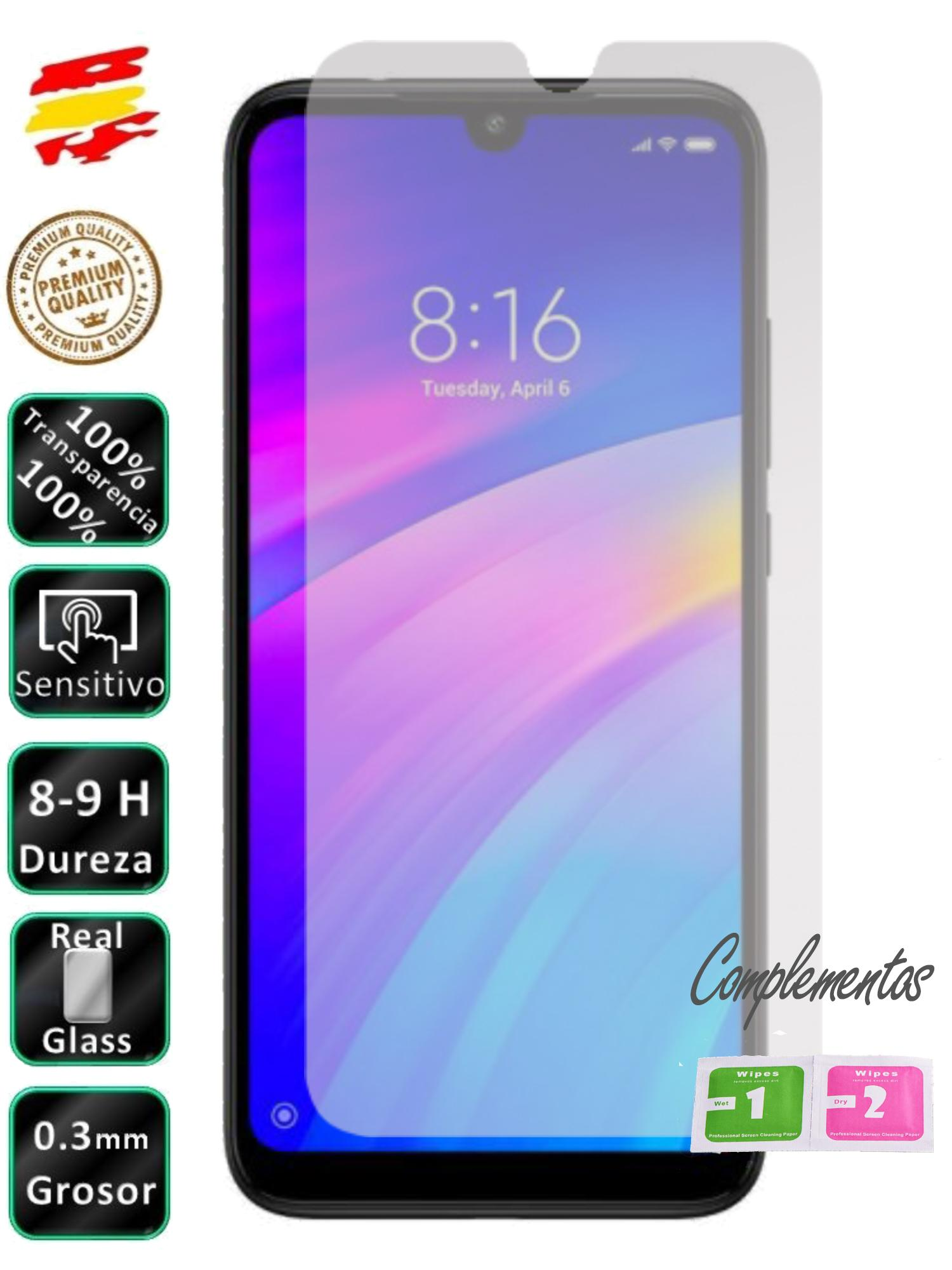 Protector For Xiaomi Redmi 7/NOTE 7/PRO/NOTE 8/MY 9/SE Tempered Glass De Vidrio Screen 9H Java