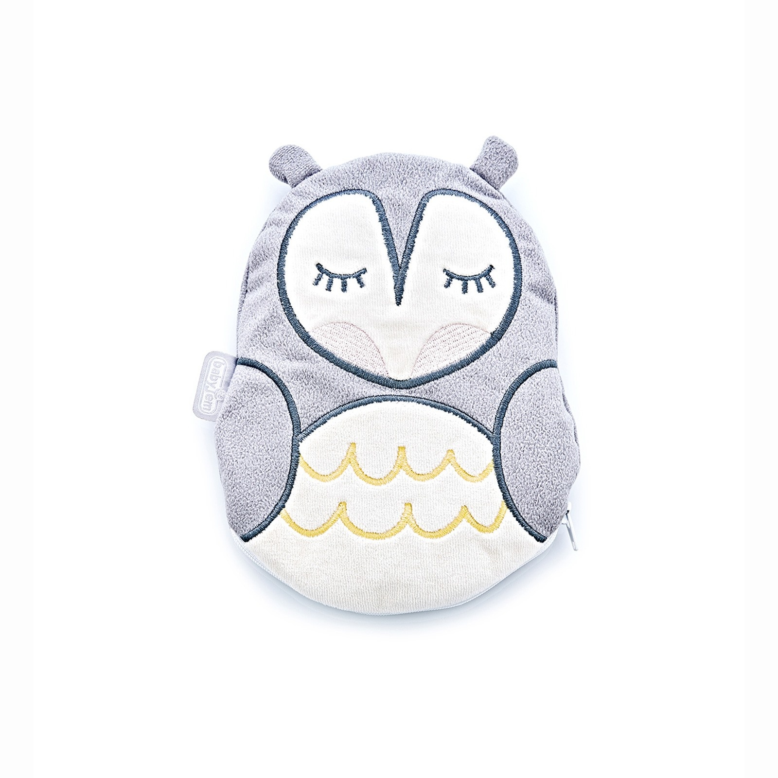 Ebebek Babyjem Owl Cherry Stone Filled Pillow For Colic - Grey 0 M+