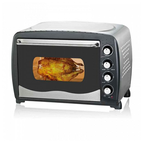 Mini Electric Oven COMELEC HO5501 ICRL 55 L 2000W Black