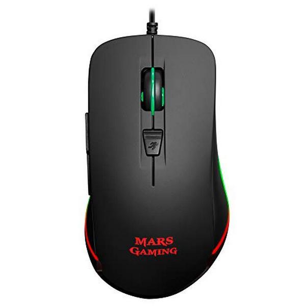 Optical Mouse Mars Gaming MM118 USB 9800 DPI Black