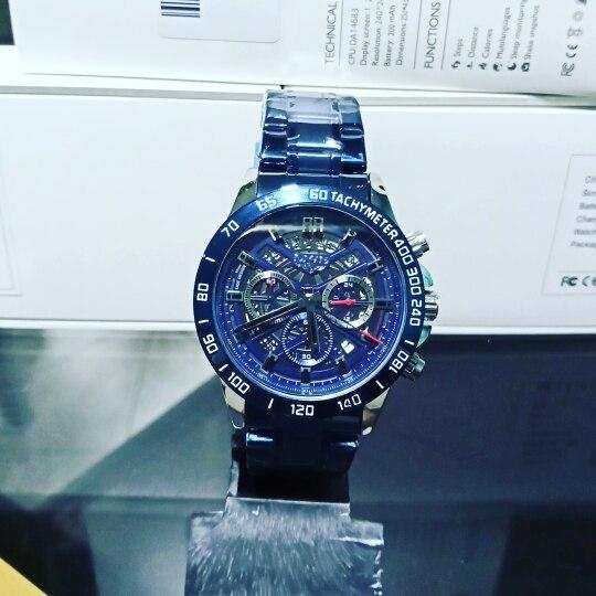 relógio muito TOP, enviado rapidamente, a domora ocorreu por conta dos CORREIOS do Brasil que presta o pior serviço logístico do mundo.
