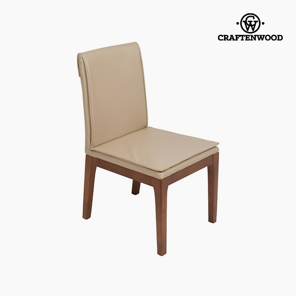 Chair Polyskin Beige (50 X 59 X 90 Cm) By Craftenwood
