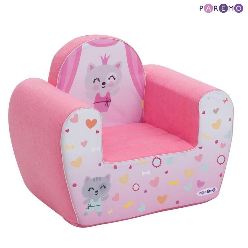Children's Sofas PAREMO  Paremo Mimimi Series Game Chair Baby Mi Children\'s Furniture Toy Armchair Gifts For Girls Children's Furniture For Children For Kids Set Ottoman Play Chair Children's Sofa Chair Soft