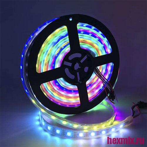 Addressable RGB LED Strip WS2811 12V (moisture And Dust Proof Type: Ip-ip30)