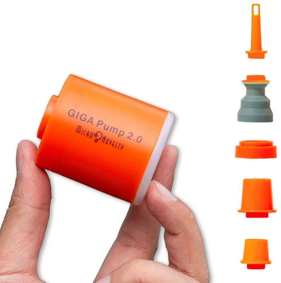 GIGA насос 2 3-в-1 Портативный мини электрический насос для шин зарядка через USB открытый воздушный насос Воздушный матрац лодка вакуумный насо...