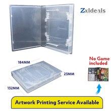 علبة بديلة عالمية لعربة ألعاب N4 ، لـ EA ، DVD ، لـ GBA ، النسخة اليابانية ، Jaguar ، صندوق شفاف