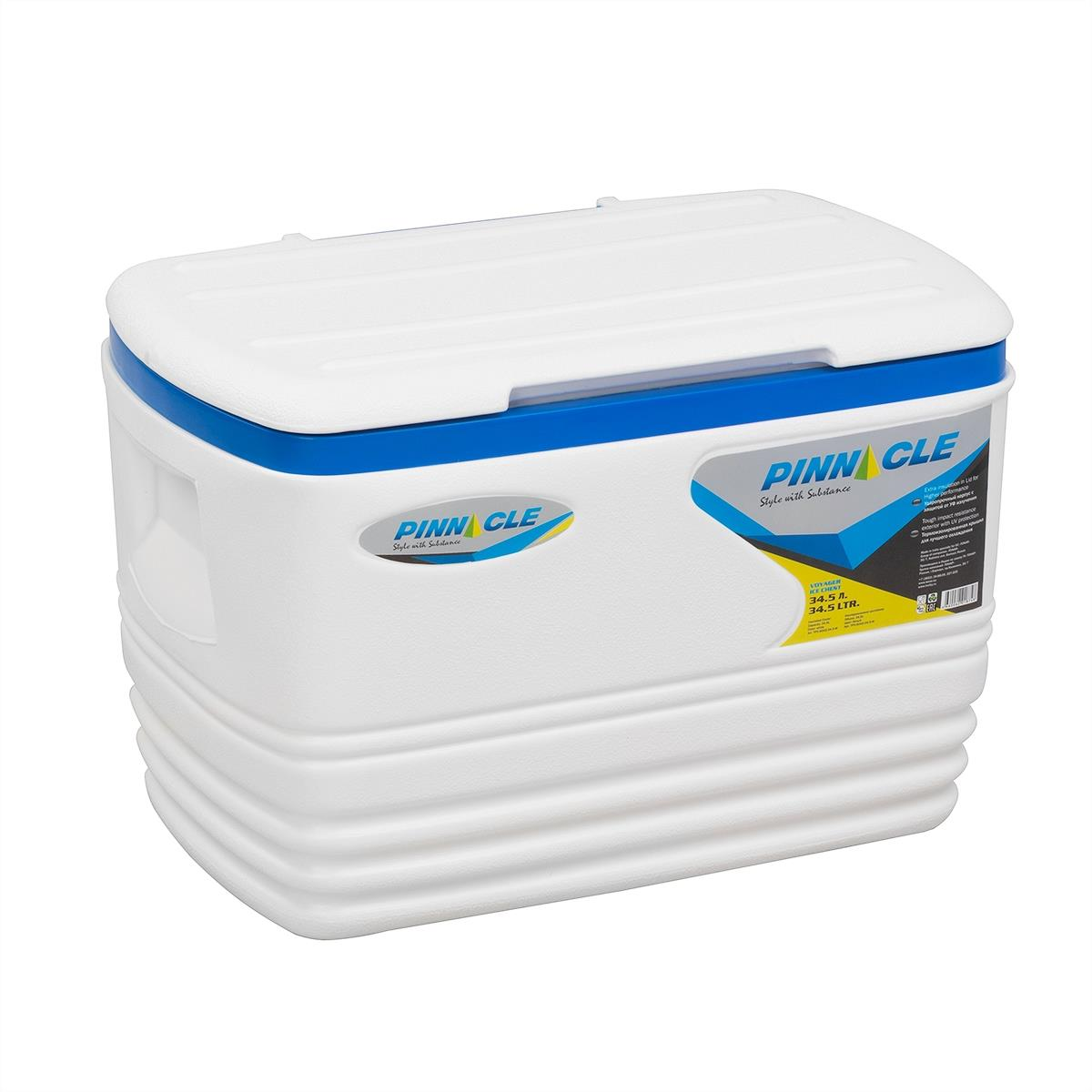 Isothermal. Container Voyager 34.5l White Supplier. 5-w Pinnacle
