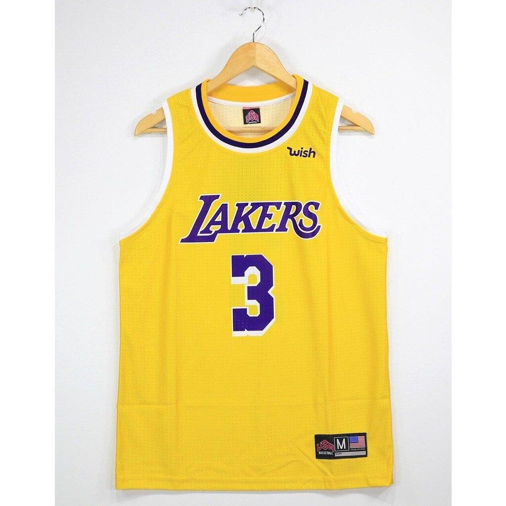 NBA Lakers TopTank Meshed Male Undershirt Davis 3
