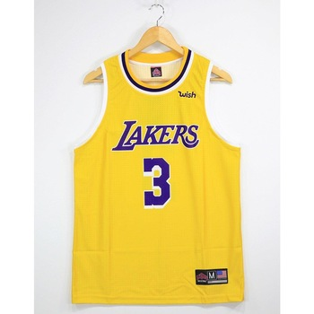 NBA Lakers TopTank Meshed Male Undershirt Davis 3