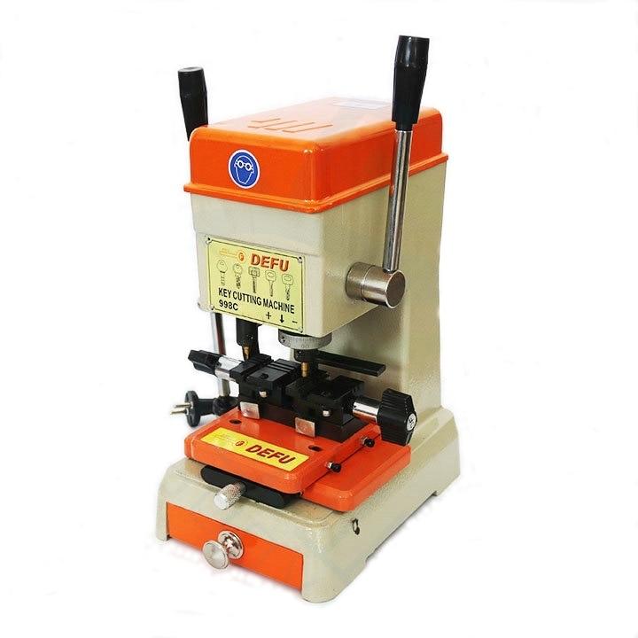 Key Cutting Machine Locksmith Tool Upright Twin Handle Key Duplicator 95 degree flat cutter leader pin for key cutting machine