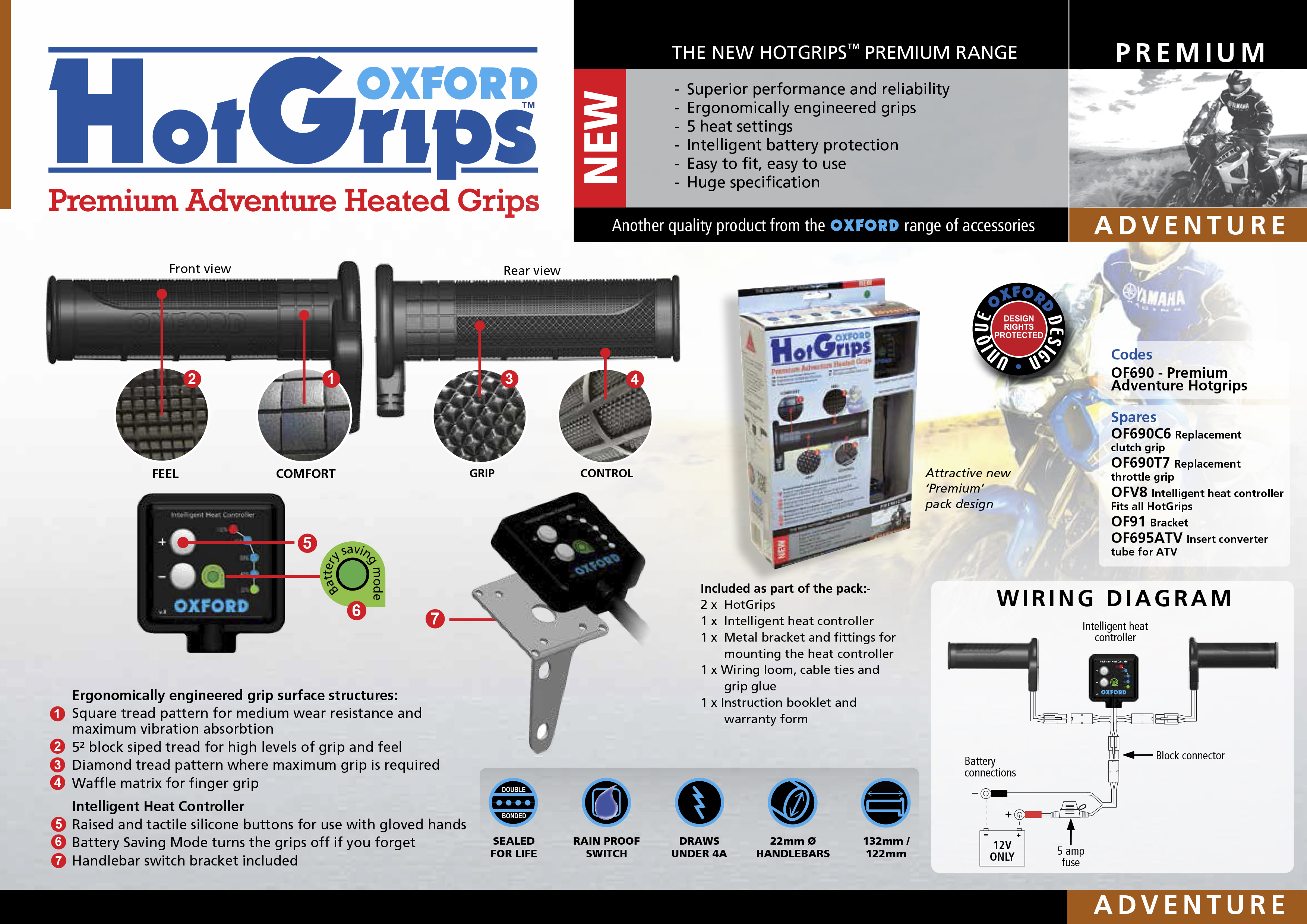 Oxford OF690 Adventure V. 8-heated ...