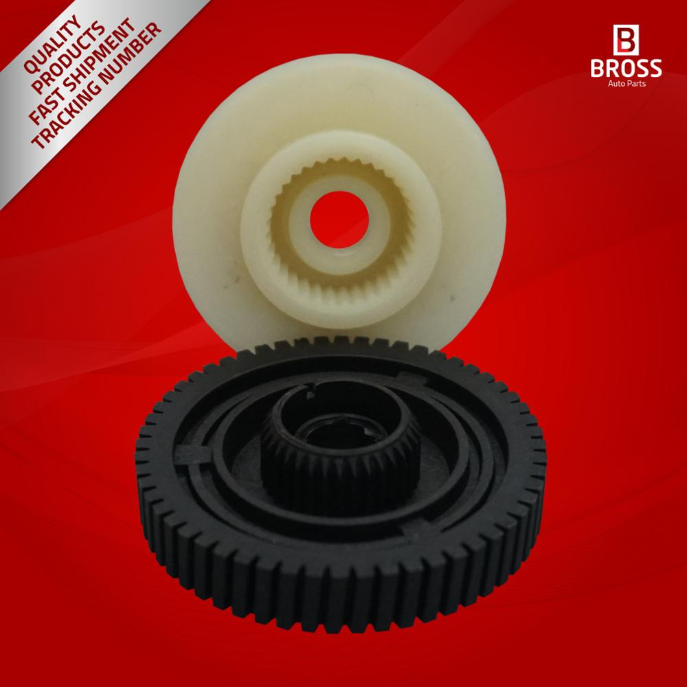 BGE10 + BGE543 2 Pieces Transfer Case Actuator Motor Gear Set 27107566296, A1645400188, 0130008507 For ROVER