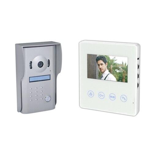 """Multitek RL-B43M 4,3 """"LCD Renkli Görüntülü Daire Telefon Villa ensemble"""