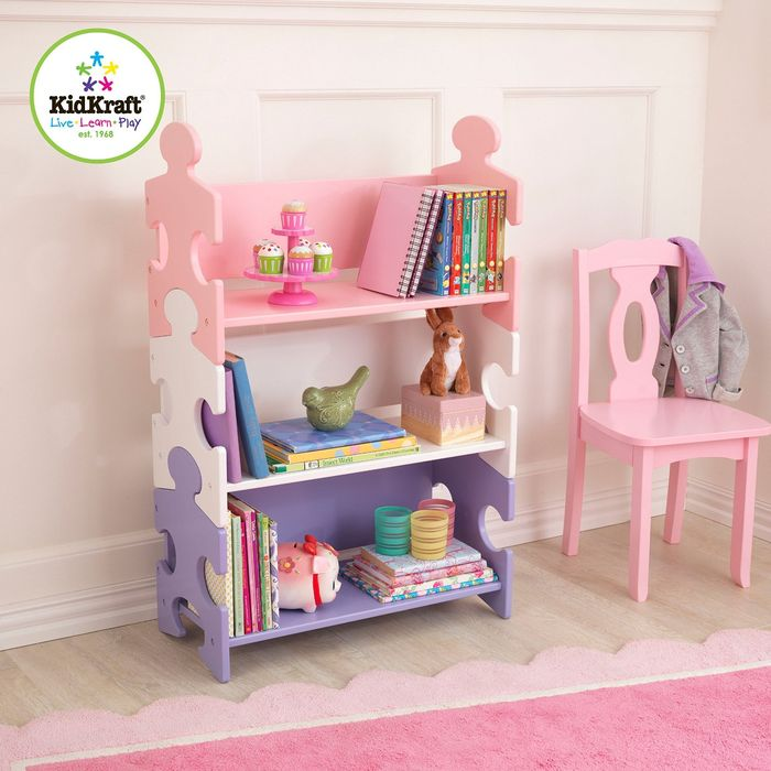 Storage system Puzzle pastel (Puzzle Bookshelf Pastel)