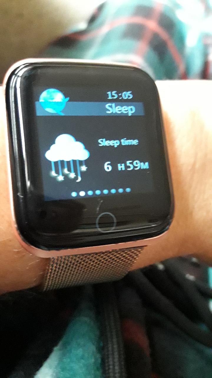 Reloj inteligente deportivo de actividad con control del ritmo cardíaco resistente al agua
