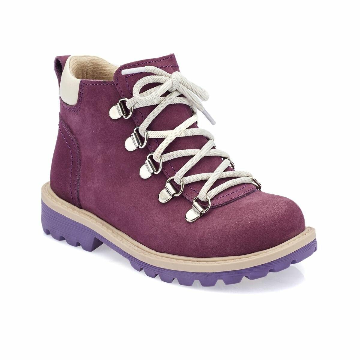 FLO 82. 509544.P Purple Female Child Sneaker Shoes Polaris
