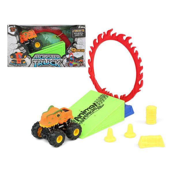 Vehicle Playset Dino Monster 110820 (9 Pcs)