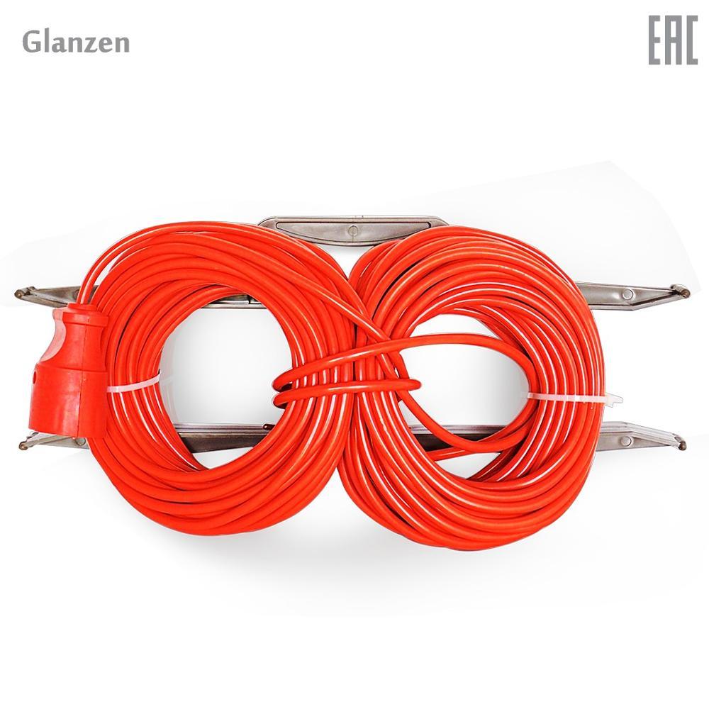 Extension force on GLANZEN shteps frame. PVA socket 2*30 0.75 m art. ER-30-001