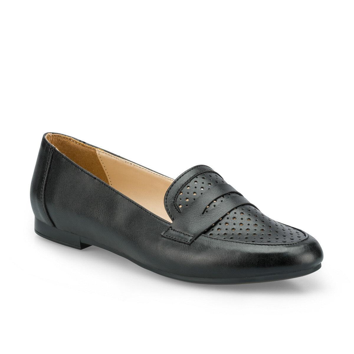 FLO 315091.Z Black Women Loafer Shoes Polaris